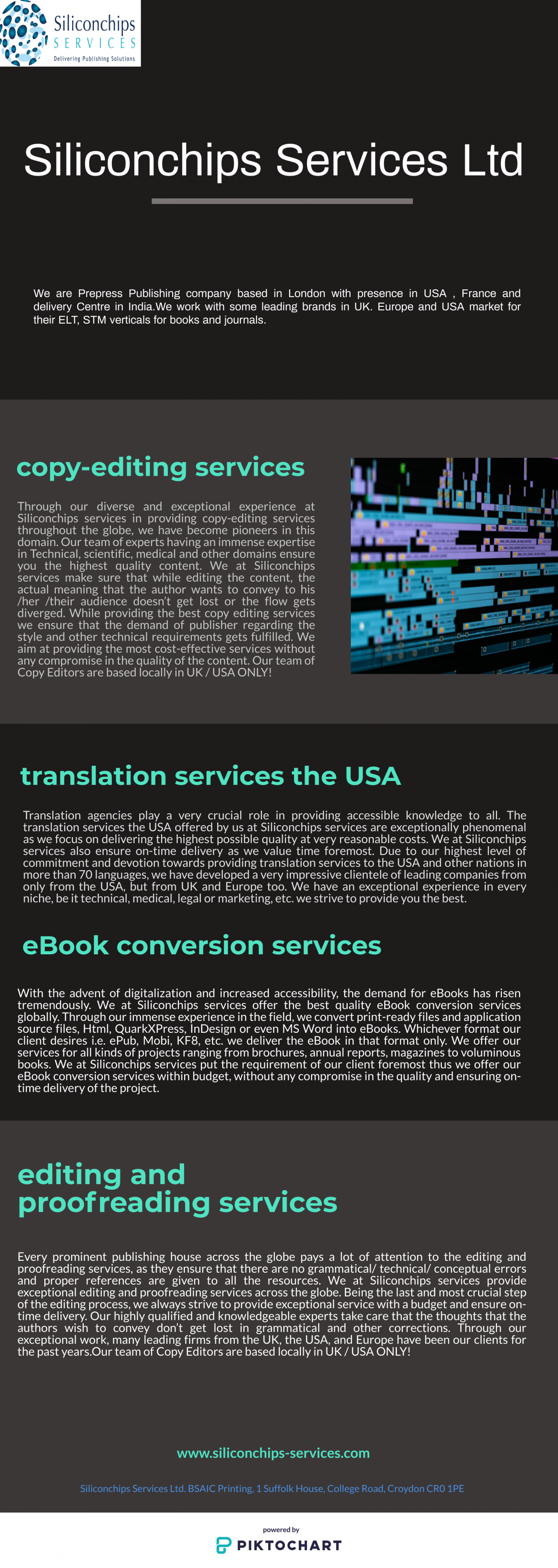 copy-editing services Infographic