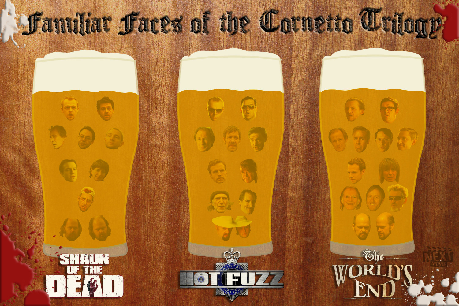 Cornetto Trilogy Infographic
