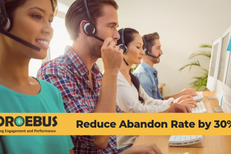 Coroebus - A powerful gamification platform to reduce abandon rate by 30% Infographic