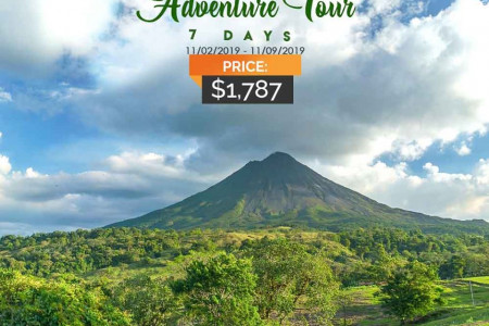 Costa Rica Nature and Adventure Tour Nov 2019 Infographic