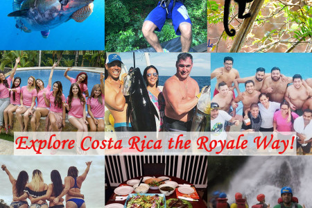 Costa Rica Vacation with Jaco Royale Infographic