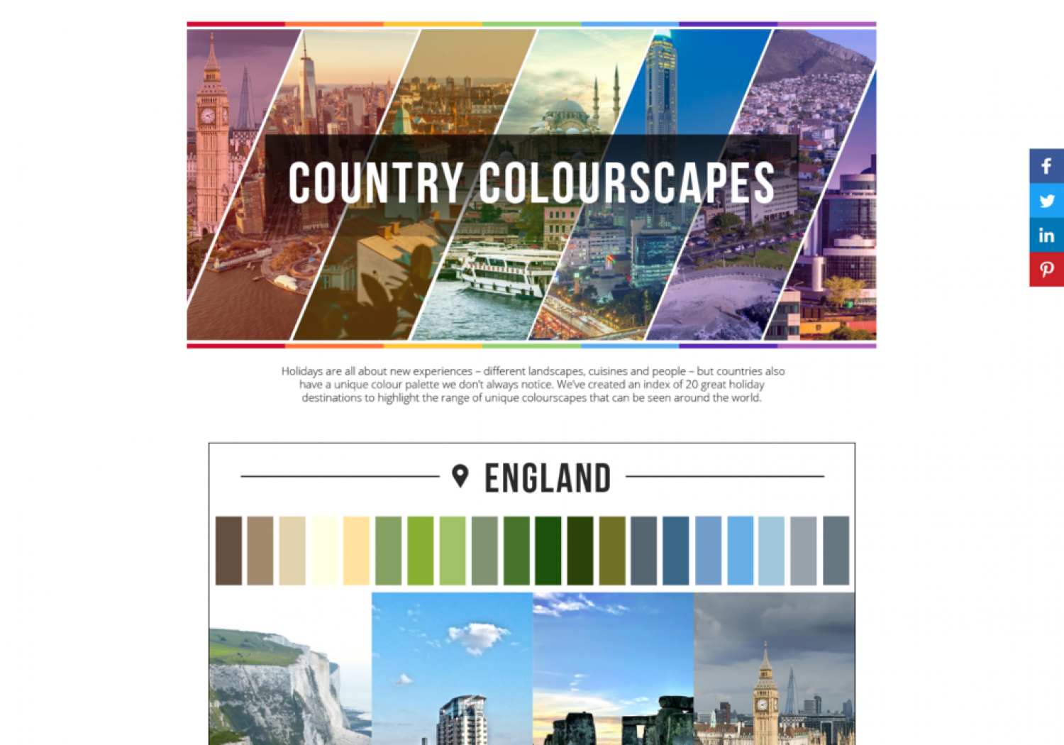 Country Colourscapes Infographic