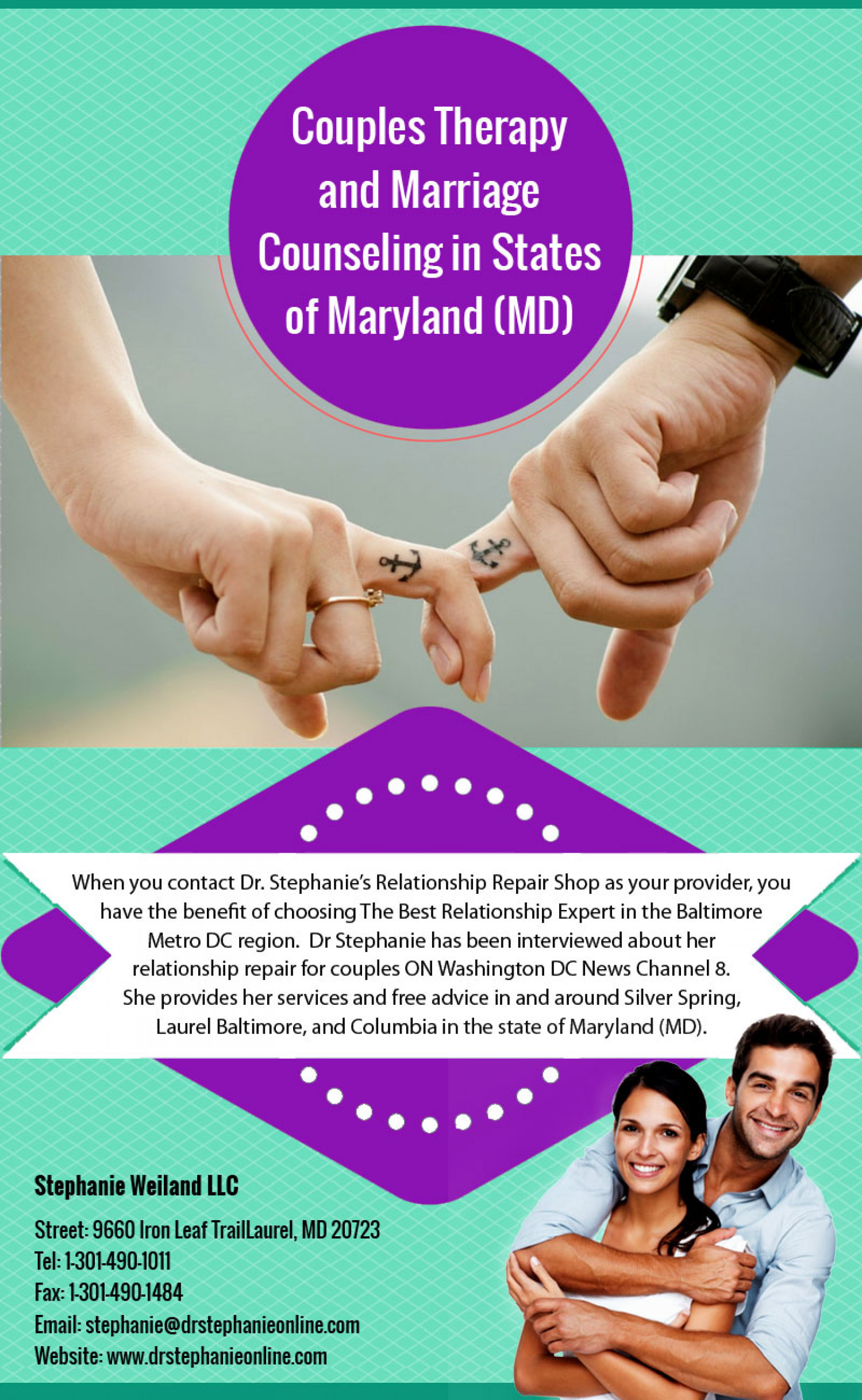 Couples Therapy And Marriage Counseling In States Of Maryland Md