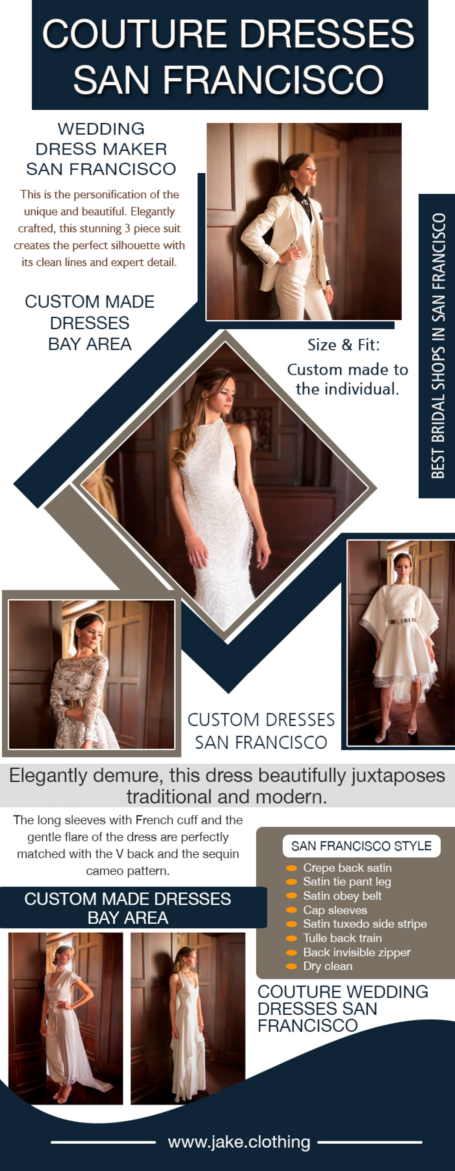 couture dresses san francisco Infographic