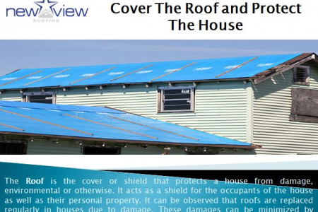 Cover The Roof and Protect The House  Infographic