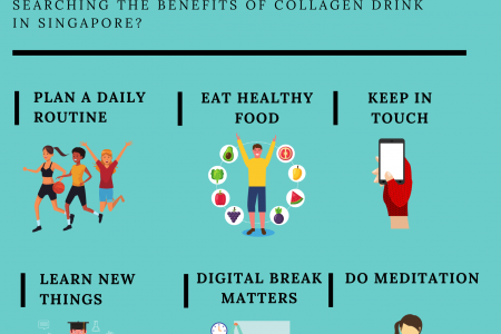 COVID-19 Circuit Breaker: Ways to Stay Healthy Infographic