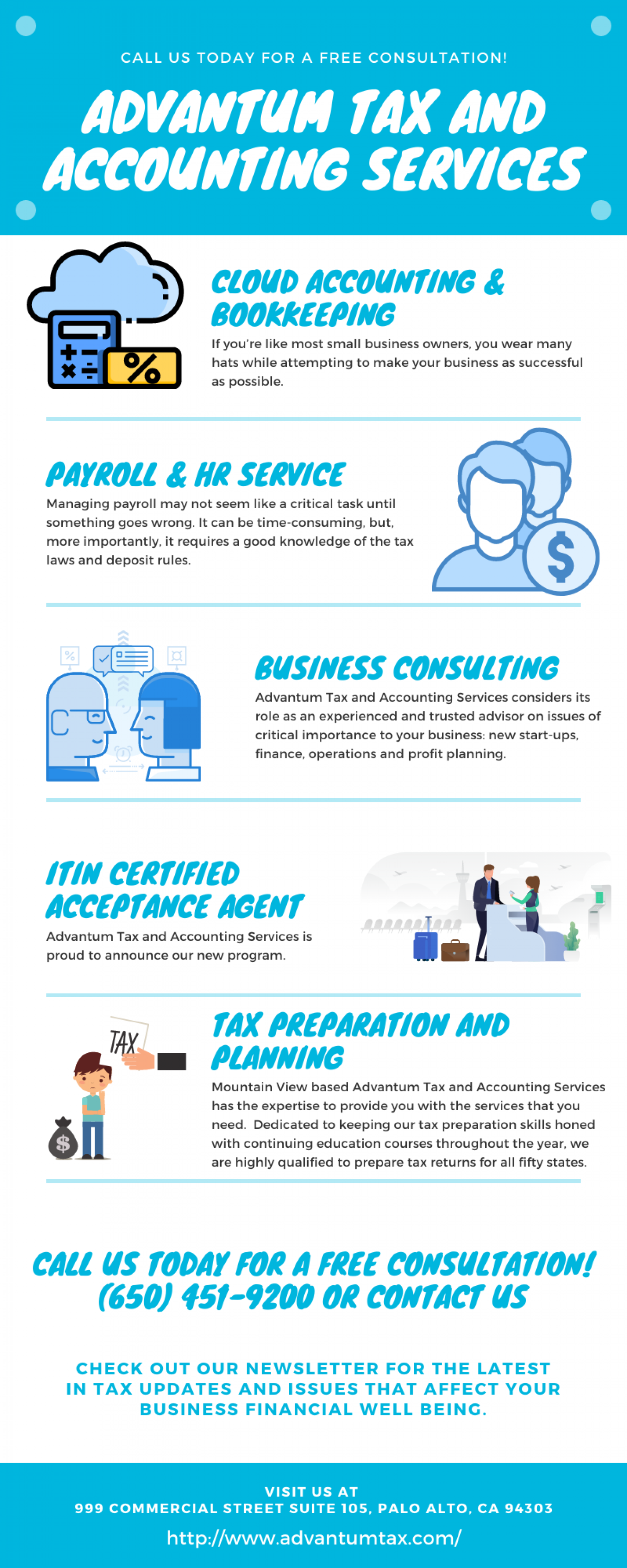 CPA Near Me  - Advantum Tax and Accounting Services  Infographic