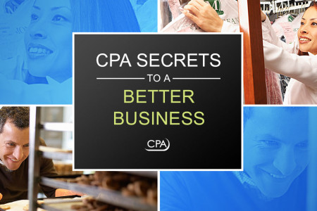 CPA SECRETS TO A BETTER BUSINESS: A Trusted Advisor Infographic