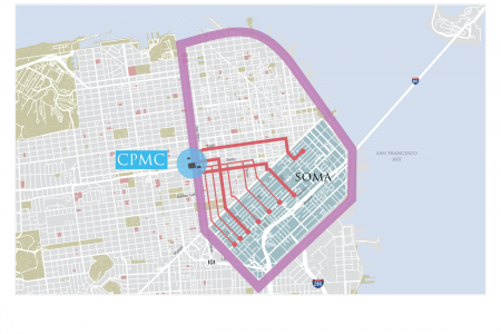 CPMC Traffic Routes Infographic