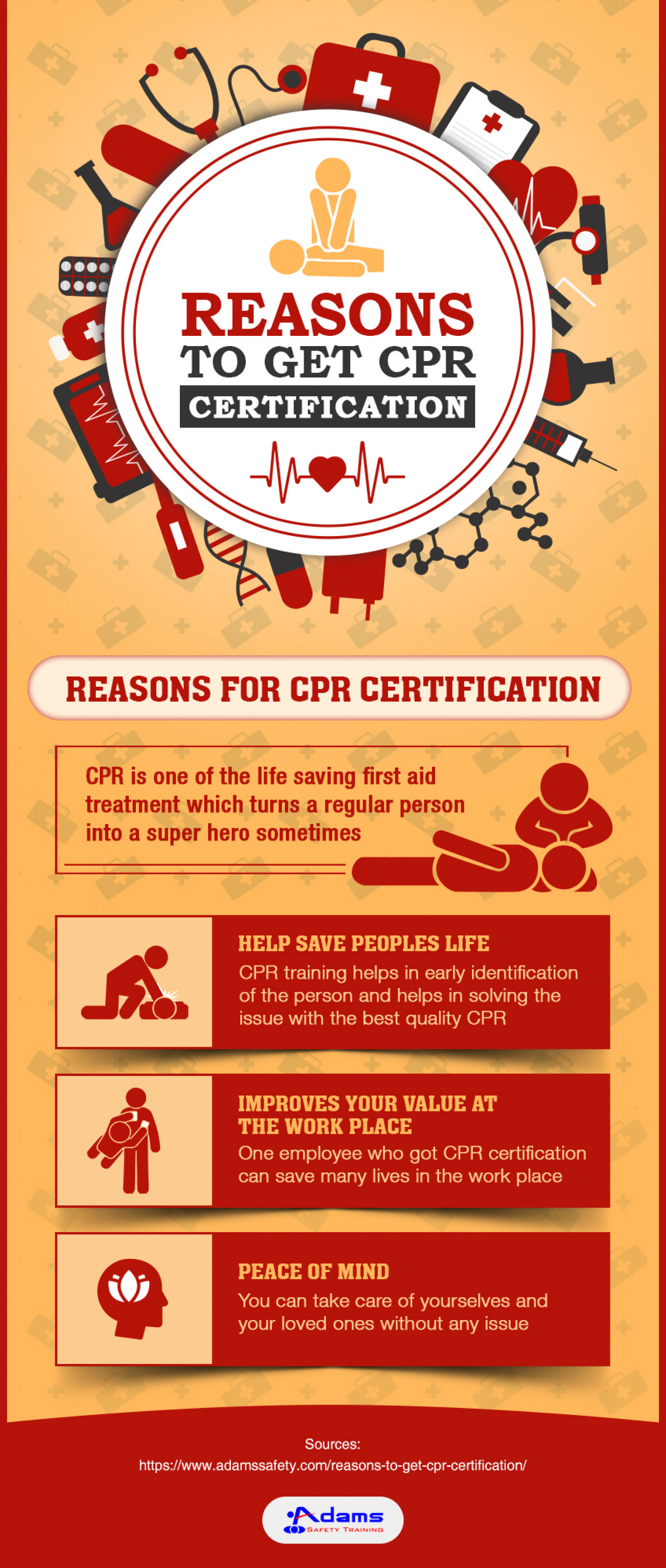 CPR Certification Can Have A Life Changing Impact! Infographic