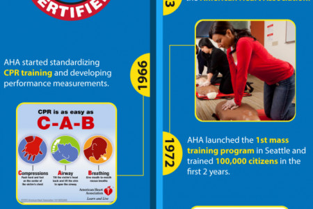 CPR Training Timeline – Infographic Infographic