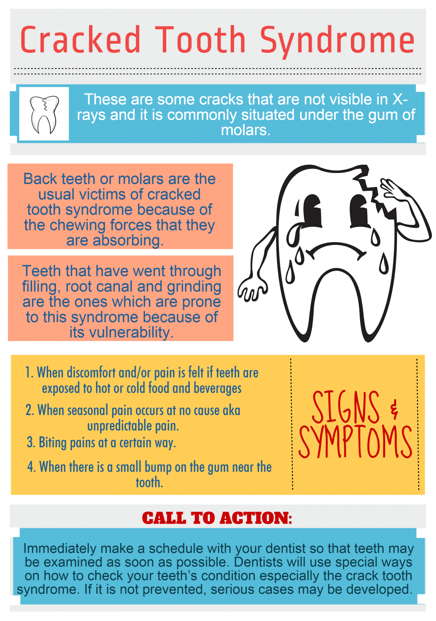 Cracked Tooth Syndrome Infographic