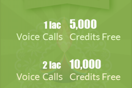 Cracker of Discount by Sarv - Get additional 5000 voice calls on Voice Broadcasting Service. Infographic