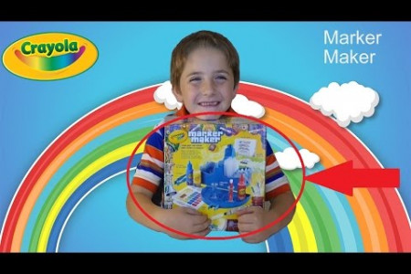 Crayola Marker Maker Play Kit! | Kid Reviews | DIY Make Your Own Markers! Infographic