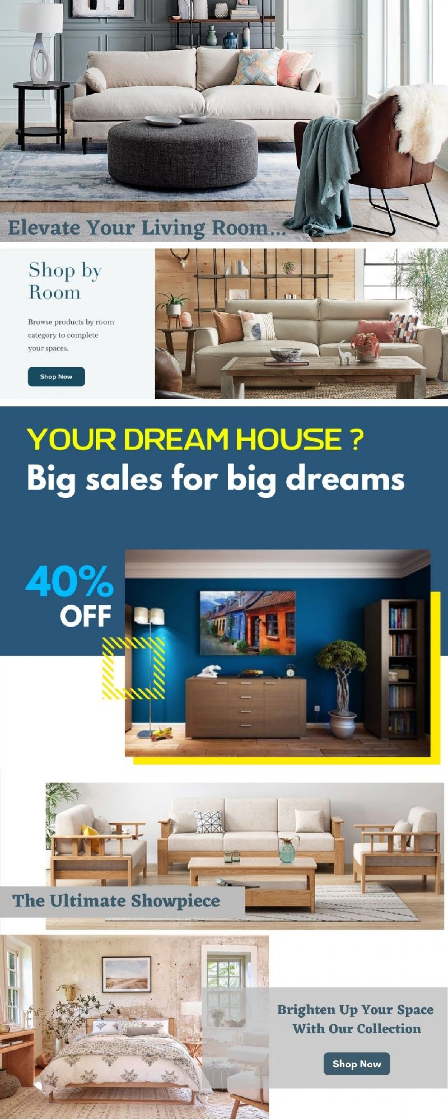 Create a luxurious look of your living room Infographic