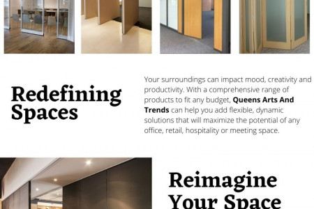 Create The Space You Want Infographic