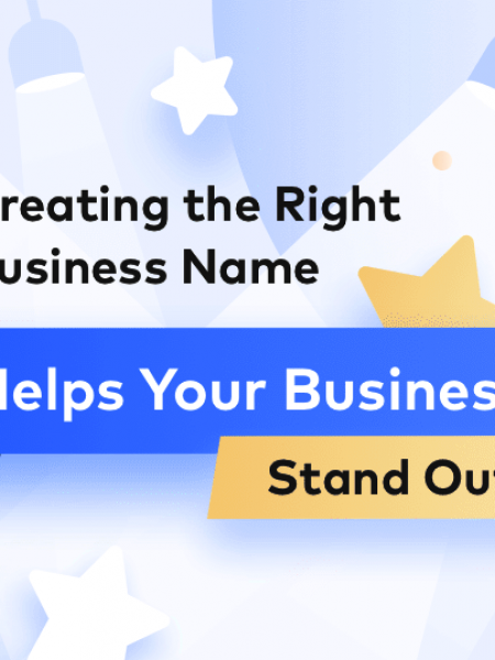Creating the Right Business Name Infographic