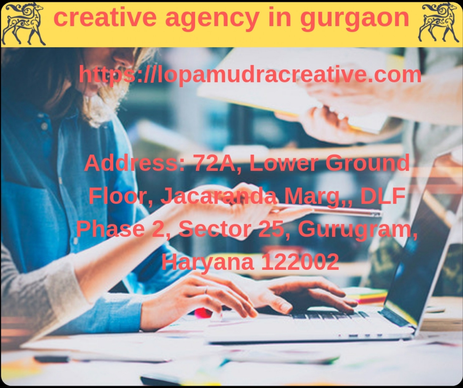 creative agency in gurgaon Infographic