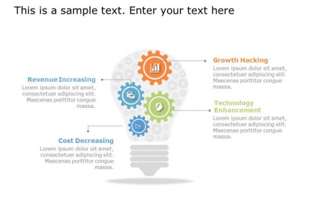 Creative Gear PowerPoint Template to Showcase Various Elements of Your Business. Infographic
