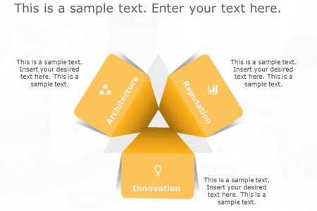 Creative Triangle Strategy PowerPoint template to showcase your Strategy. Infographic