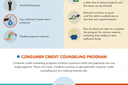 Credit Card Debt Relief Programs (Your Ultimate Guide)  Infographic