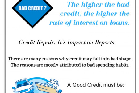 Credit Repair Services in Texas Infographic