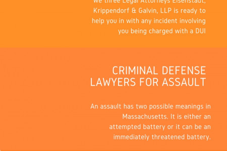 Criminal Defense Attorney Boston, Massachusetts - EKG Lawyers Infographic