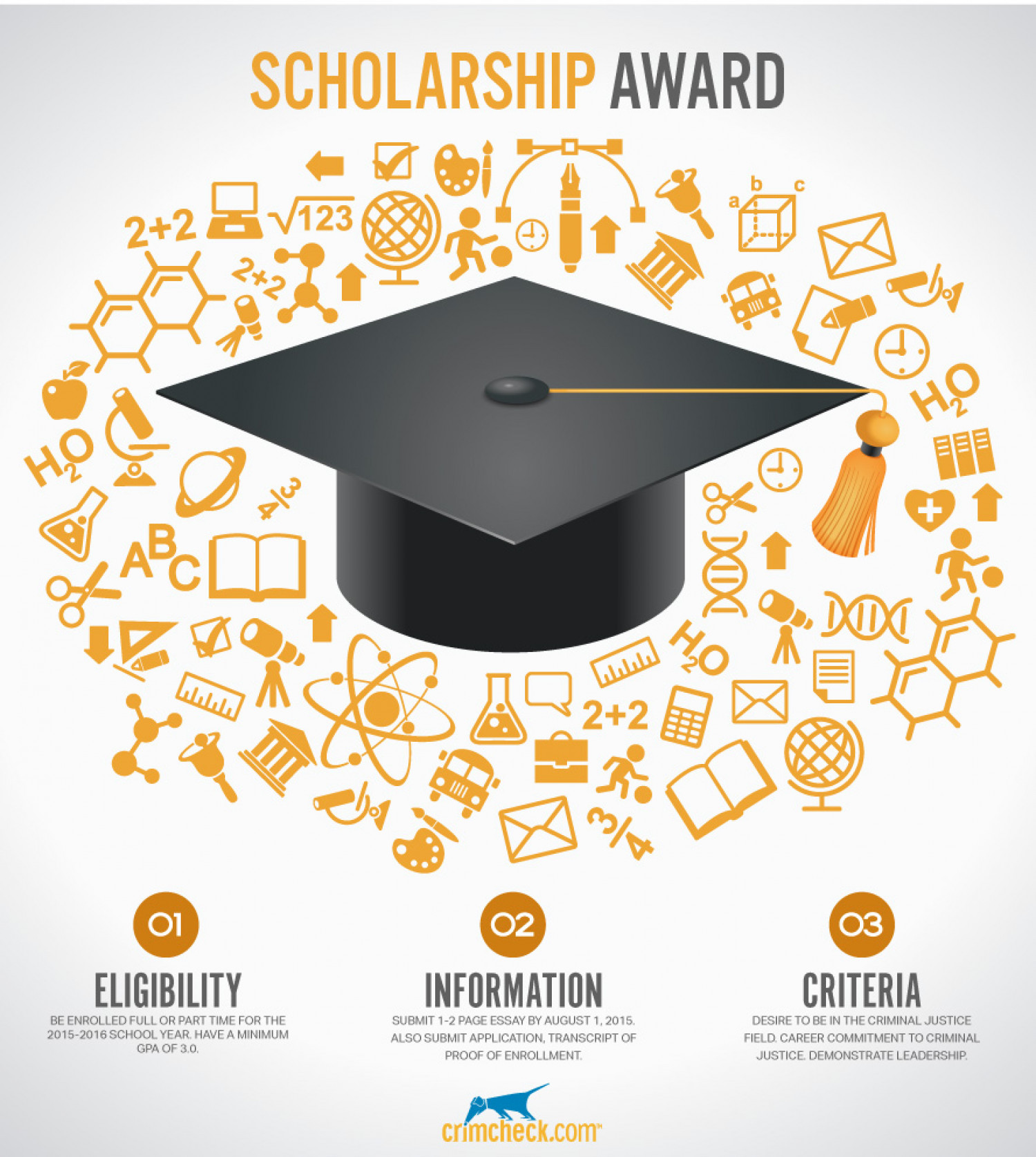 Criminal Justice Scholarship Award | Visual.ly