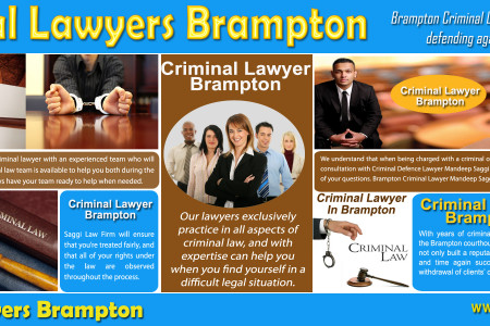 Brampton Criminal Lawyer Infographic
