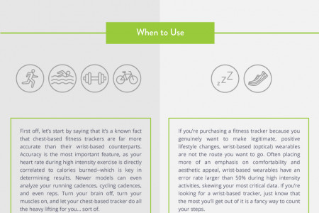 Critical Features of a Fitness Tracker Infographic