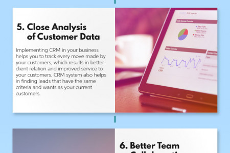 CRM For Small Business Owners Infographic