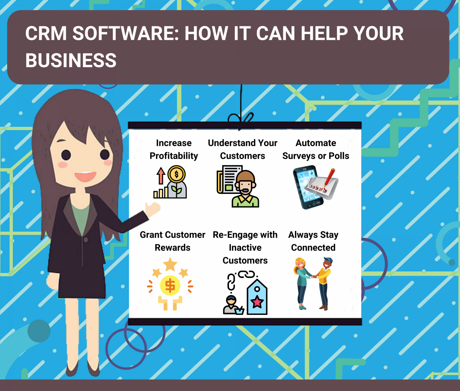 CRM Software: How It Can Help Your Business Infographic
