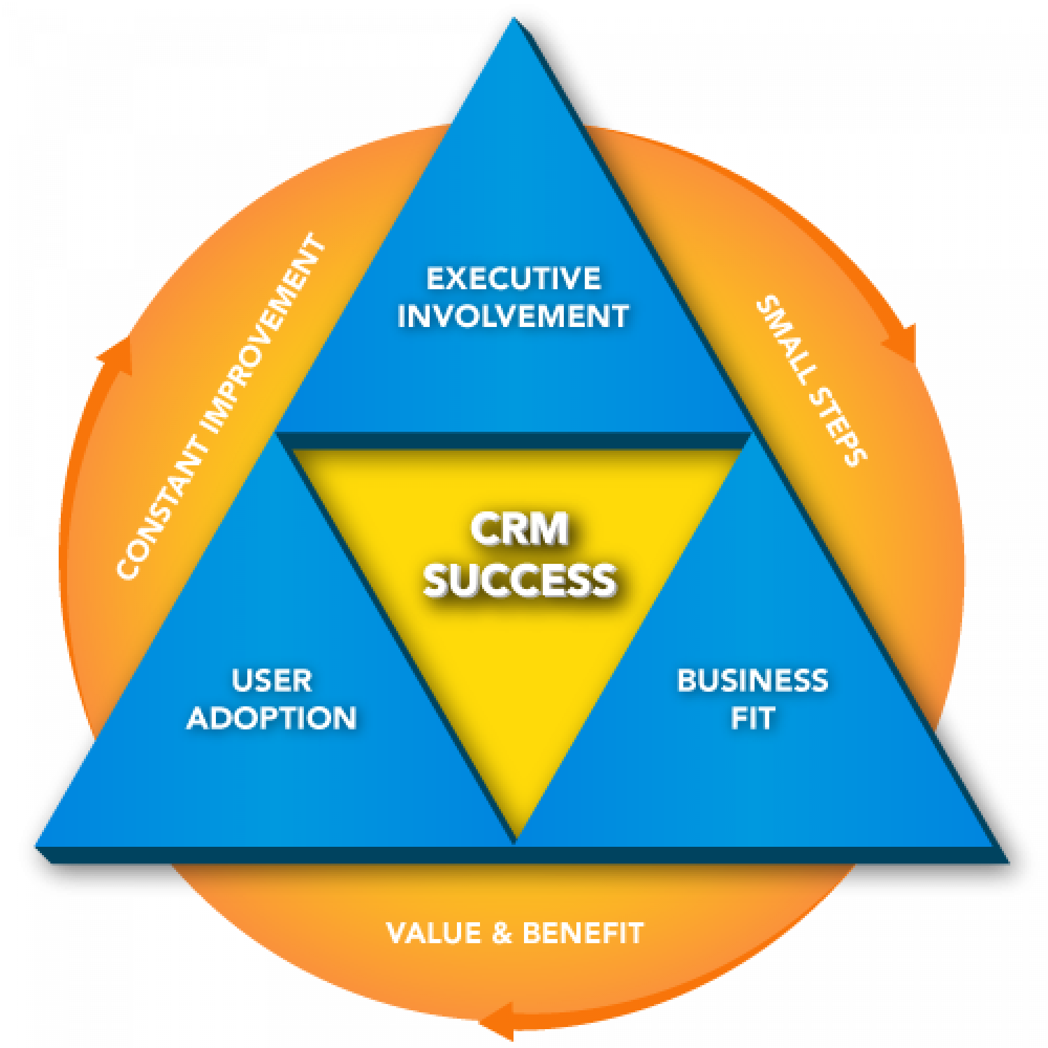CRM Success Infographic