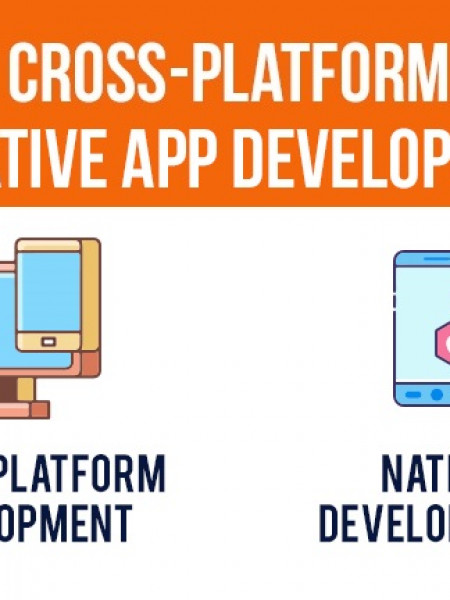 Cross-Platform vs Native App Development Infographic