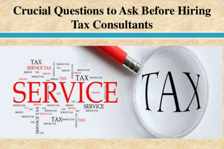 Crucial Questions to Ask Before Hiring Tax Consultants  Infographic