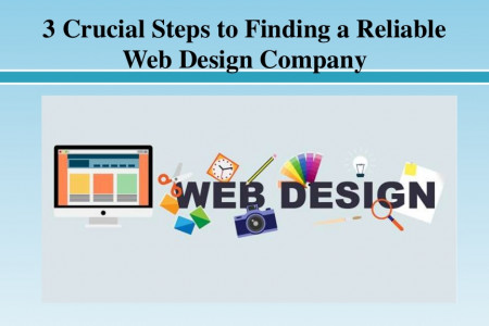 Crucial Steps to Finding a Reliable Web Design Company Infographic