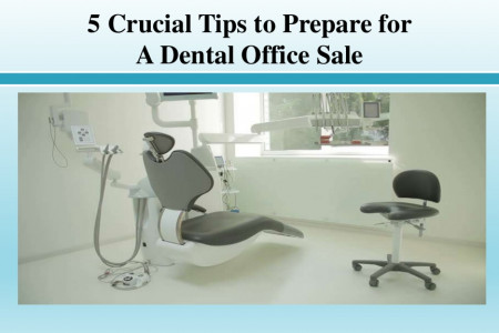 Crucial Tips to Prepare for a Dental Office Sale Infographic