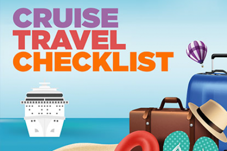 Cruise Travel Checklist Infographic