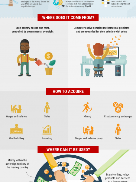 Bitcoin/Cryptocurrency InfoGraphic Infographic