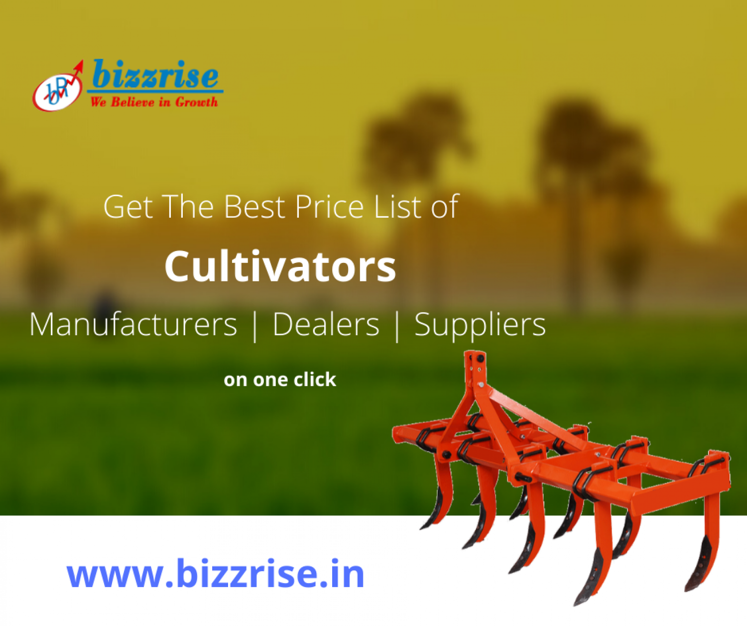 cultivator manufacturer and supplier in ludhiana- Bizzrise Infographic