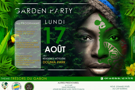 Cultural Garden Party Infographic