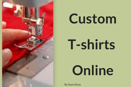 Custom T-shirts Online Infographic