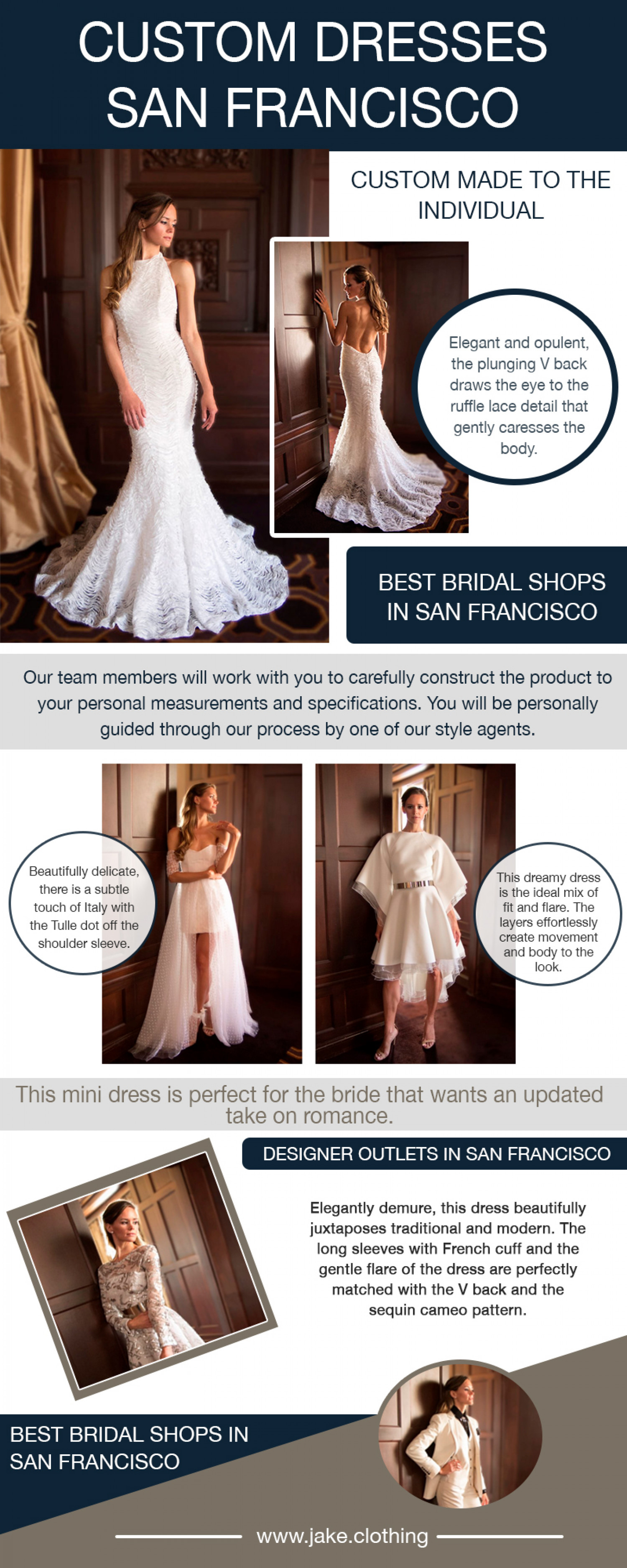custom dresses san francisco Infographic