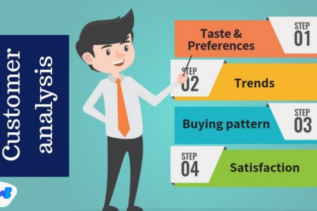 Customer Analysis Infographic
