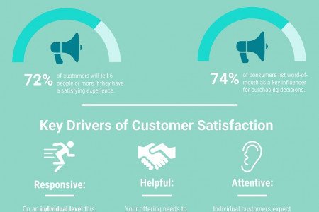 Customer Satisfaction 101 Infographic