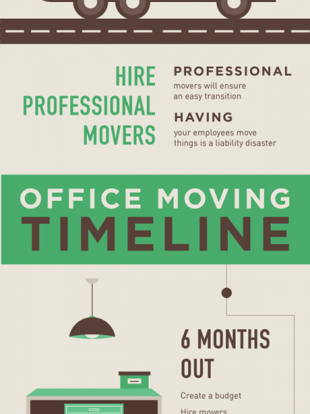 Cut the Chaos from Your Commercial Move Infographic