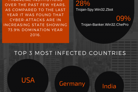 Cyber Attacks on Banking and Financial Institutions (Q1-2016) Infographic