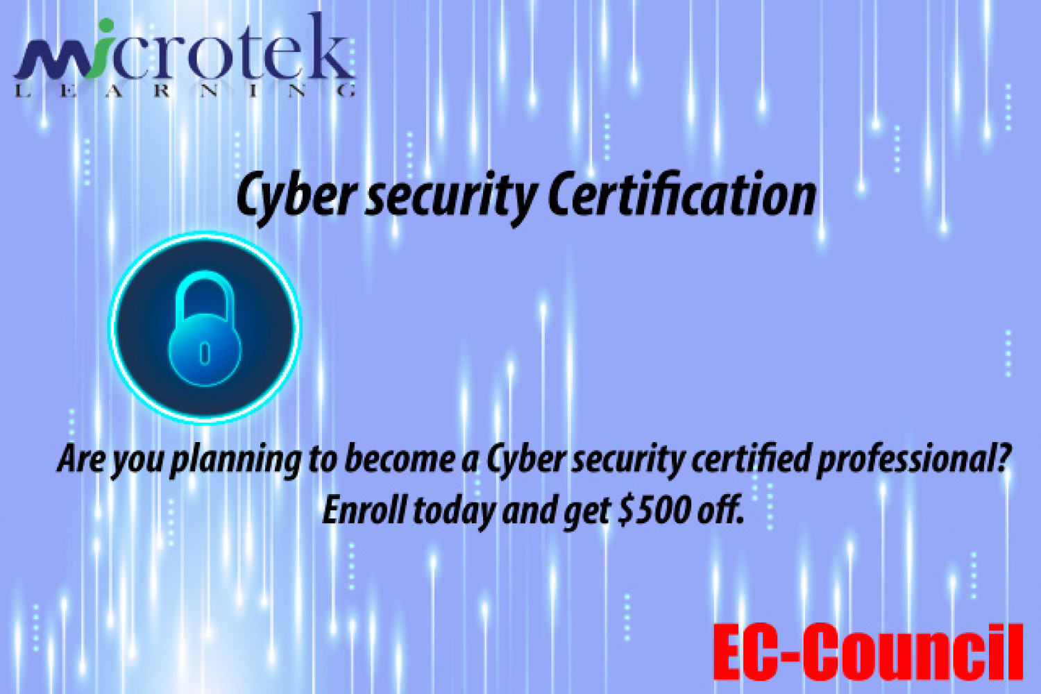 Cyber security Certification Infographic