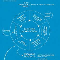 Cycle of Addiction | Visual.ly