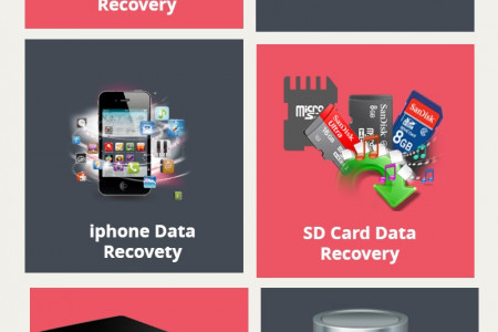 Data Recovery - Hard Drive/Raid/SD Card/QuickBooks/SQL Databases Infographic